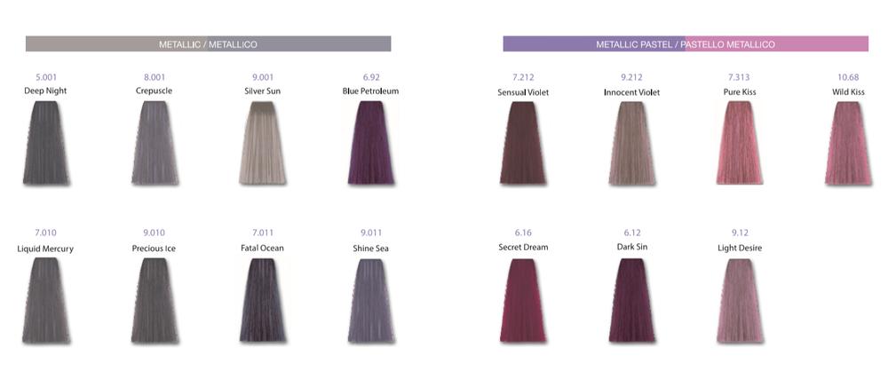 Metallum Kleurenkaart | HD-Haircare.pro