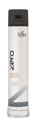 Silky Mega Hold Hairspray 500ml 10+2