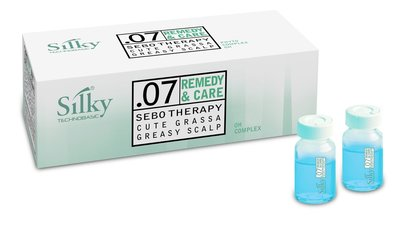 Silky .07 Remedy & Care Sebo Therapy Treatment 10 x 10ml