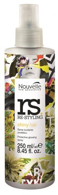 Nouvelle Re-Styling Shiny Hair Spray NEW 250ml