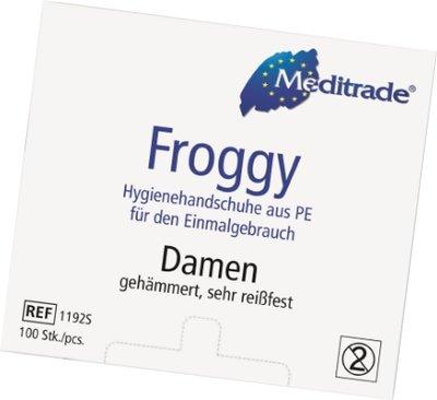 Wegwerphandschoenen Meditrade® Froggy Dames 100 stuks