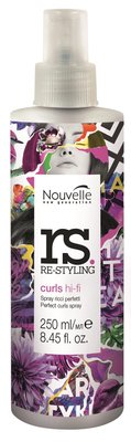 Nouvelle Re-Styling Curls Hi-Fi Spray Conditioner NEW 250ml