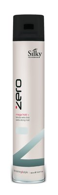 Silky Techno Basic Zero Hairspray Mega Hold 500ml