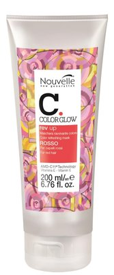 Nouvelle ColorGlow Rev Up Rosso 200ml Color Refreshing Mask