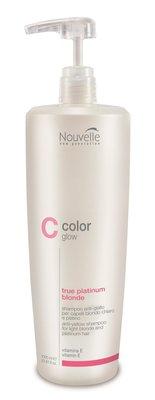 Nouvelle ColorGlow True Platinum Blonde Shampoo 1000ml