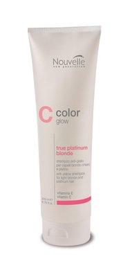 Nouvelle ColorGlow True Platinum Blonde Shampoo 200ml